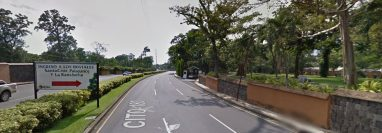 En este punto está de la ruta Cito-180, está  previsto se edifique un distribuidor vial. (Foto Prensa Libre: Google Maps)
