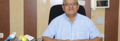 Manuel de Jesús Delgado Sugarminaga, alcalde de Mazatenango, Suchitepéquez, lleva 12 años en el poder. (Foto Prensa Libre:  Marvin Túnchez)