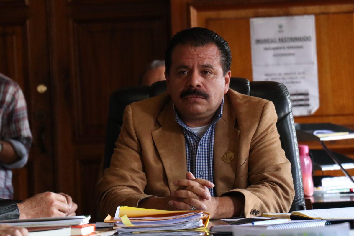 Juan Fernando López lamenta el estado en que recibe el sistema informático de la municipalidad