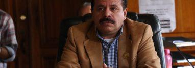 El alcalde de Xela, Juan Fernando López, indicó que abordará este tema como prioridad. (Foto Prensa Libre: Raúl Juárez)