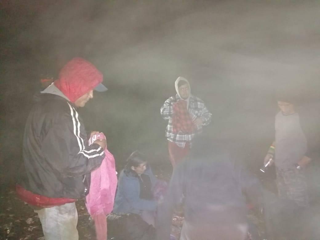 Rescatan a siete turistas con hipotermia en el volcán Atitlán