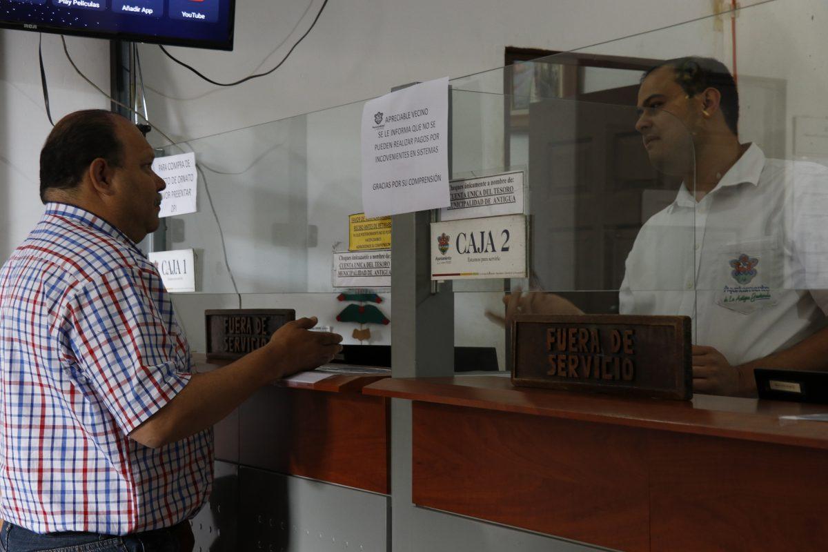 Comuna de Antigua Guatemala dejará de percibir unos Q500 mil por pago de boleto de ornato