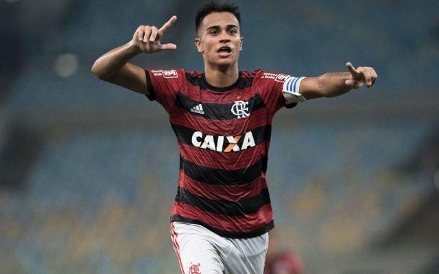 La joya del Flamengo, Reiner, vestirá de blanco. (Foto Prensa Libre: Redes)