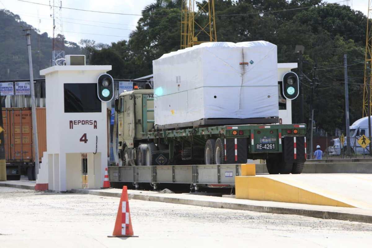 Así es el nuevo sistema de rayos X para inspeccionar mercadería en Santo Tomás de Castilla