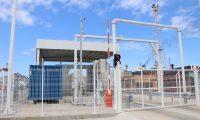 Los puertos deben de contar con la certificación del Código de Protección de Buques e Instalaciones Portuarias (PBIP) para la inspección de mercancías que se trasladan. Este es el módulo de la Empornac. (Foto Prensa Libre: Dony Stewart)
