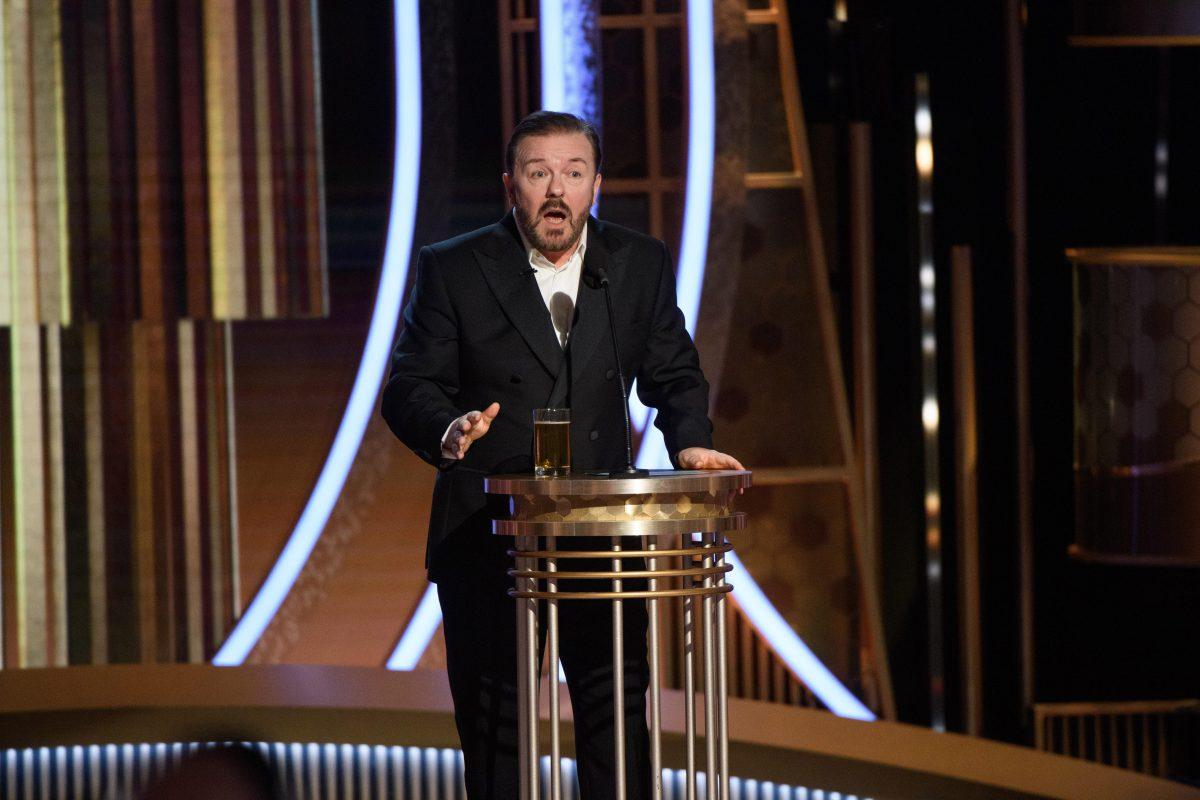 Globos de Oro 2020: el monólogo de Ricky Gervais destacó durante la gala