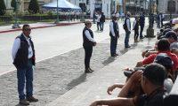 Agentes de la SAAS serían trasladados al Ministerio de Gobernación si se desintegra la secretaría. (Foto Prensa Libre: Hemeroteca PL)