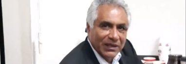 Jorge Adán Rodríguez Diéguez es el nuevo alcalde de San Lucas Sacatepéquez. (Foto Prensa Libre: Canal Regional de Sacatepéquez Full Channel)