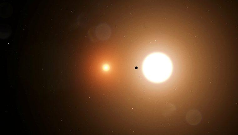 """El planeta, llamado """"TOI 700 d"""", está relativamente cerca de la Tierra. (Foto Prensa Libre: AFP)"""