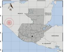 Fuerte temblor en México fue sensible en el suorccidente de Guatemala. (Foto Prensa Libre: Insivumeh)