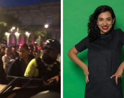 La cantante mexicana Flor Amargo denunció que el Ayuntamiento de Guadalajara le decomisó sus instrumentos. (Foto: Prensa Libre: Flor Amargo)