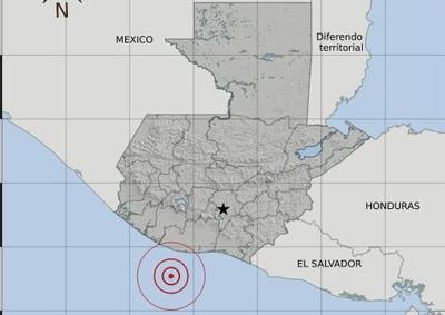 Temblor de 4.9 se registró la noche de este viernes en Guatemala