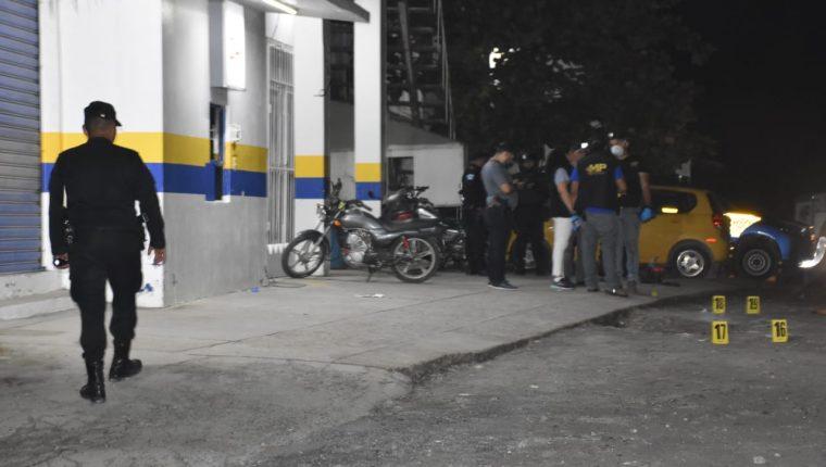 El hecho ocurrió en una farmacia ubicada en Puerto Barrios, Izabal. (Foto Prensa Libre: Dony Stewart)