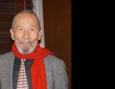 El actor guatemalteco Rolando Cáceres Ponce falleció el domingo 12 de enero, a los 79 años, a consecuencia de enfermedad cardiaca. (Foto Prensa Libre, cortesía de Heidy Sandoval)