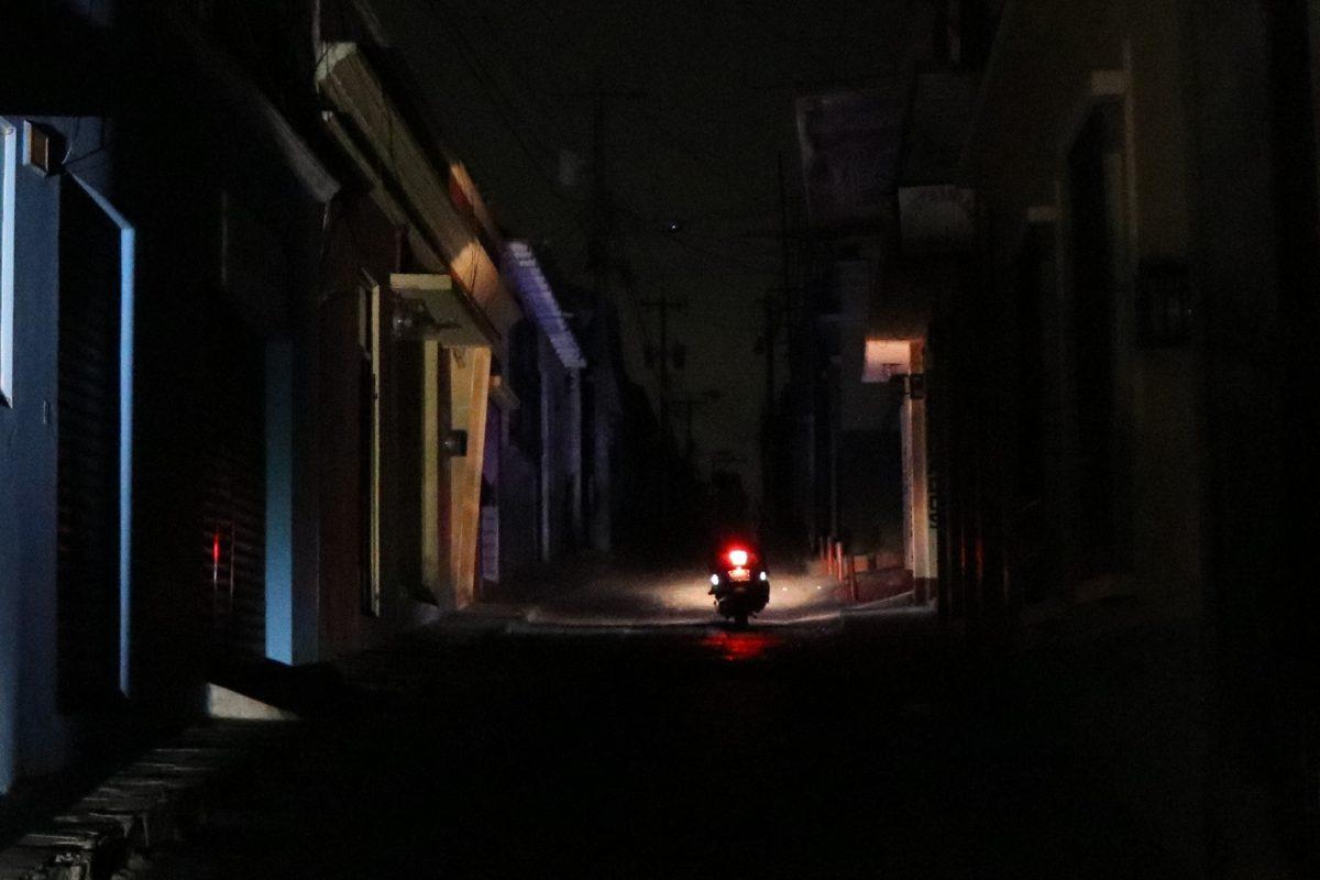 Xela, la ciudad de los apagones