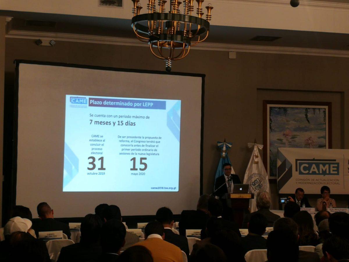 TSE recibirá el próximo mes la iniciativa que integrará las propuestas para las reformas electorales