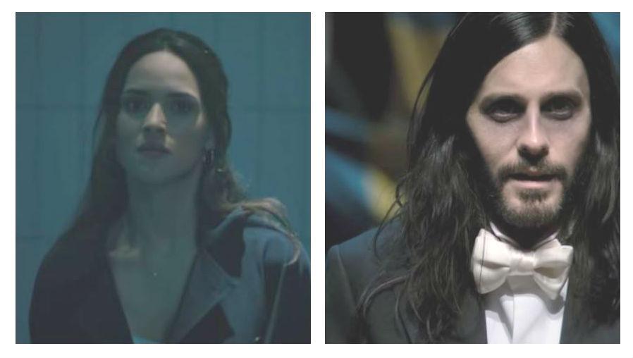"""Adria Arjona y Jared Leto presentan el primer tráiler de """"Morbius"""", un villano de las historias de Spider-Man"""
