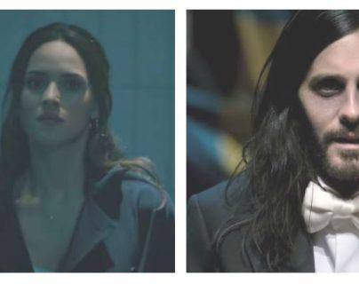"""Adria Arjona y Jared Leto protagonizan el filme """"Morbius"""". (Foto Prensa Libre: Sony Pictures Entertainment)"""