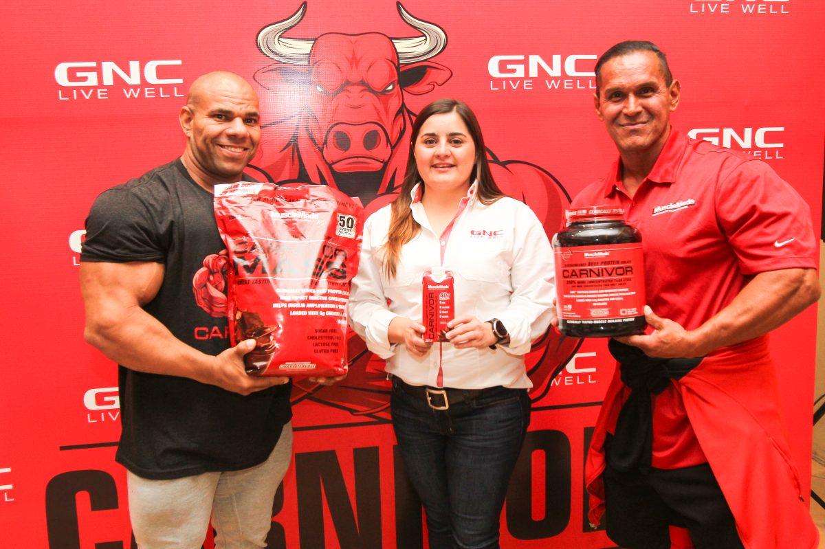 GNC luce a Carnivor, que ayuda al desarrollo físico y nutricional de entrenadores y atletas