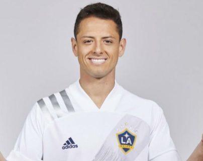 """Javier """"Chicharito"""" Hernández jugará en la MLS con el Galaxy. (Foto Prensa Libre: www.lagalaxy.com)"""