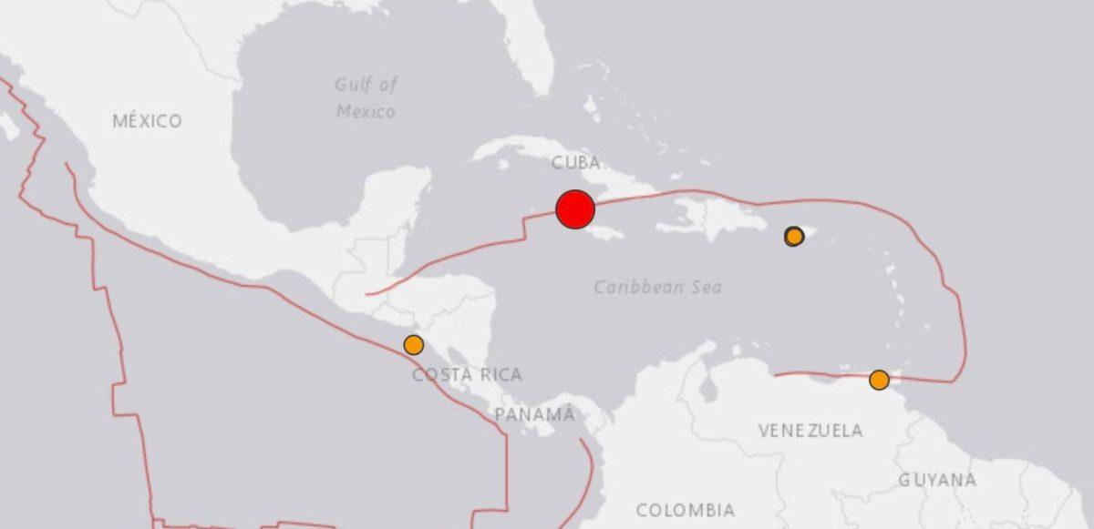 Terremoto de más de 7 grados azota el Caribe y genera alerta de tsunami