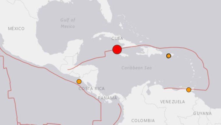 La alerta de tsunami despertó alarma. (Foto Prensa Libre: NewEarhquake)