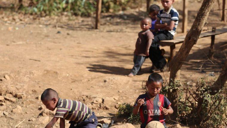 La desnutrición crónica afecta a casi la mitad de los niños guatemaltecos. (Foto Prensa Libre: Hemeroteca PL)