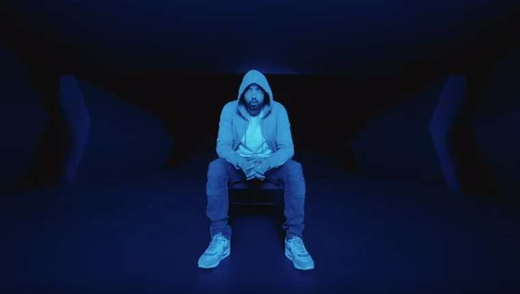 """Music To Be Murdered By"" es el álbum que promociona Eminem. (Foto Prensa Libre: YouTube/EminemMusic)"