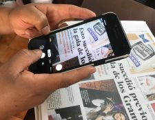 La próxima vez que vaya a tomar una foto de un documento o una publicación impresa, considere utilizar una app especializada en digitalizar documentos. Los resultados serán mucho mejores. (Foto Prensa Libre: Alfredo Vicente).