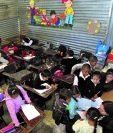 La cuota que las escuelas reciben como parte del programa de gratuidad se redujo a la mitad. Los recursos son utilizados para suplir necesidades que no cubren los otros programas. (Foto Prensa Libre: Hemeroteca PL)
