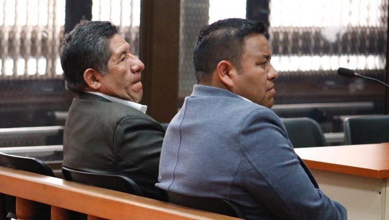 Los exalcaldes de Nebaj, Pedro Raymundo Cobo y de Chiché, Ángel Ren Guarcas, son señalados por el MP. (Foto Prensa Libre: Fernando Cabrera)