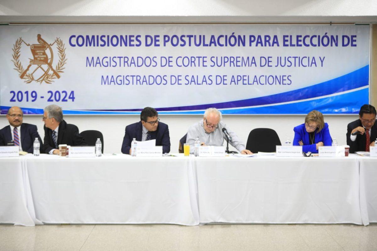 Diputados tendrán en sus manos la responsabilidad de elegir buenos magistrados