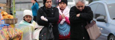 El frío continuará en el territorio nacional. (Foto Prensa Libre: Hemeroteca PL).