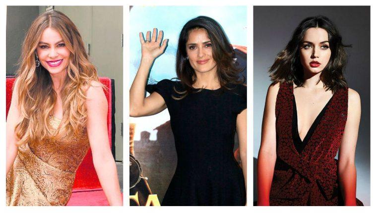 Sofía Vergara, Salma Hayek y Ana de Armas serán presentadoras en los Globos de Oro 2020. (Foto Prensa Libre: Hemeroteca PL)
