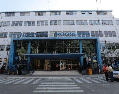 Fachada del Hospital Roosevelt, donde fue detectado un paciente sospechoso de tener covid-19. (Foto Prensa Libre: Hemeroteca PL)