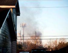 Una gran explosión sacudió a Houston y conmocionó a sus residentes. (Foto Prensa Libre: AFP)