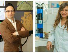 Los guatemaltecos Leonel Aguilar y María Isabel Amorín, fueron reconocidos como inventor y emprendedor por la revista MIT 2019. (Foto Prensa Libre: MIT Innovators Under 35)