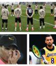 Celebridades muestran consternación por la muerte de Kobe Bryant. (Foto Prensa Libre: AFP)