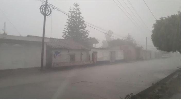 Fuertes lluvias se reportaron en el departamento de Huehuetenango. (Foto Prensa Libre: captura de pantalla)