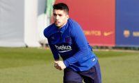 Luis Suárez será una baja importante para el Barcelona. (Foto Prensa Libre: Twitter @FCBarcelona_es)