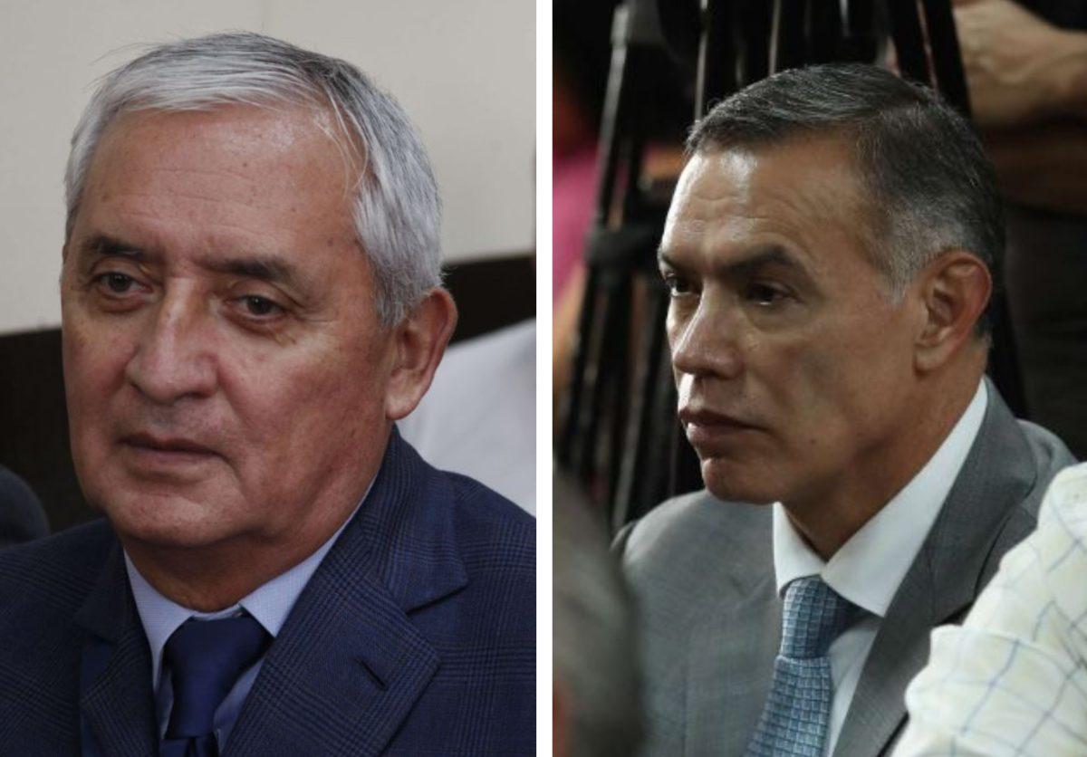 Caso Red de poder: Feci apela fallo que favoreció a Otto Pérez y Juan de Dios Rodríguez