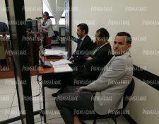 El jugador Marco Pappa asistió a la audiencia en Quetzaltenango. (Foto Prensa Libre: María José Longo)