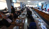 Diputados del Parlacén sesionan para elegir presidenta. (Foto Prensa Libre: Érick Ávila)
