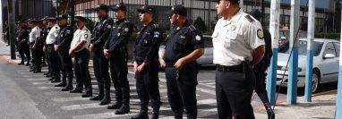 PNC blinda el Parlacén ante manifestación contra el gobierno de FCN-Nación
