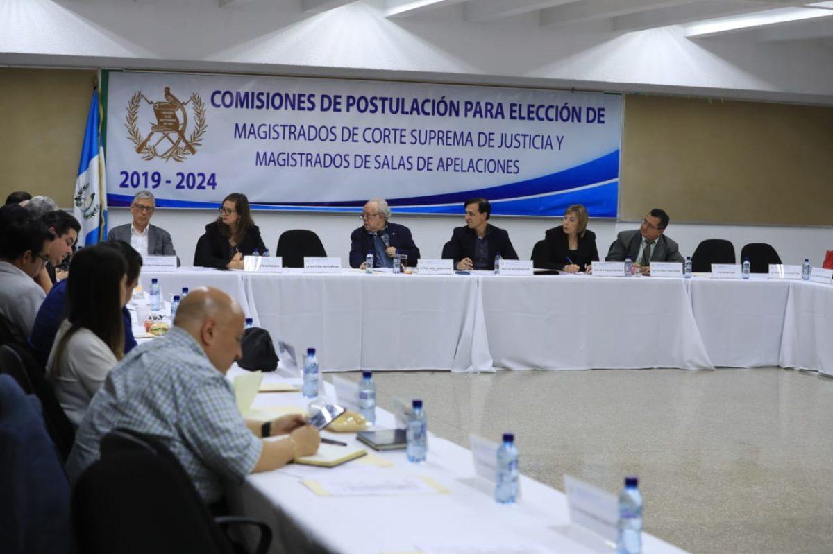Postuladoras alientan al Congreso a elegir magistrados de CSJ y de Apelaciones
