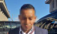 Enrique Caniz Xicay luego de ser capturado. (Foto Prensa Libre: PNC).