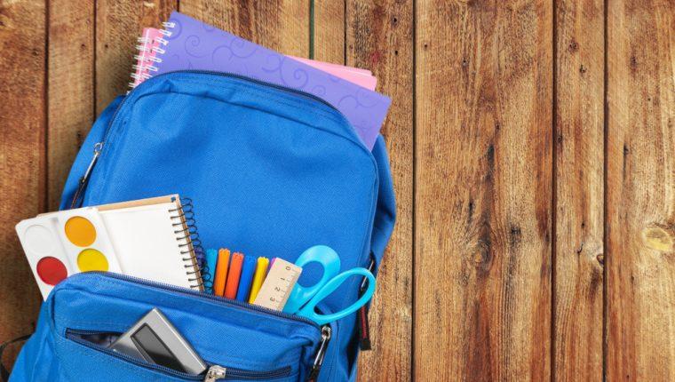 Es importante que sepa escoger la mochila de sus hijos. (Foto Prensa Libre: Servicios).