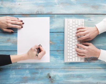 ¿Sustituirán las aplicaciones al papel y bolígrafo? (Foto Prensa Libre: Servicios).