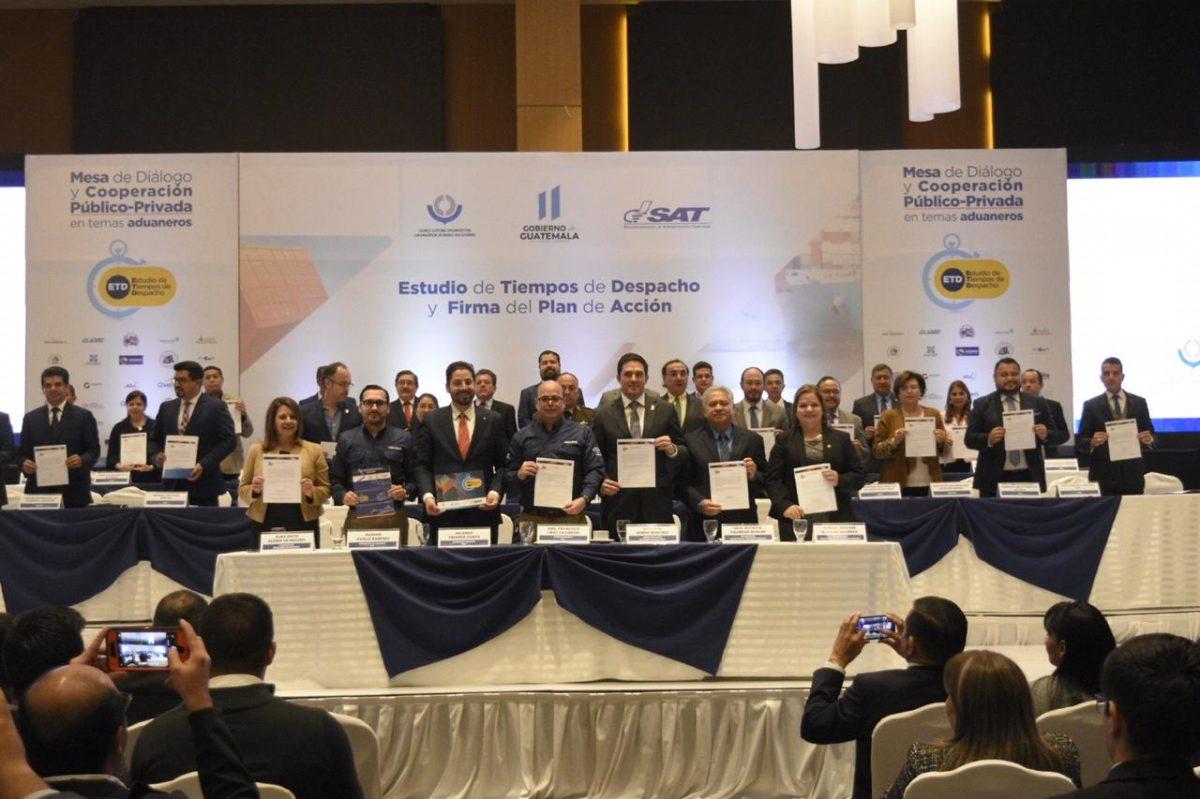 Guatemala buscará en seis meses mejorar tiempos de mercancías en aduanas