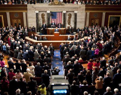 Interior de la Cámara de Representantes de Estados Unidos. (Foto Prensa Libre: EFE).